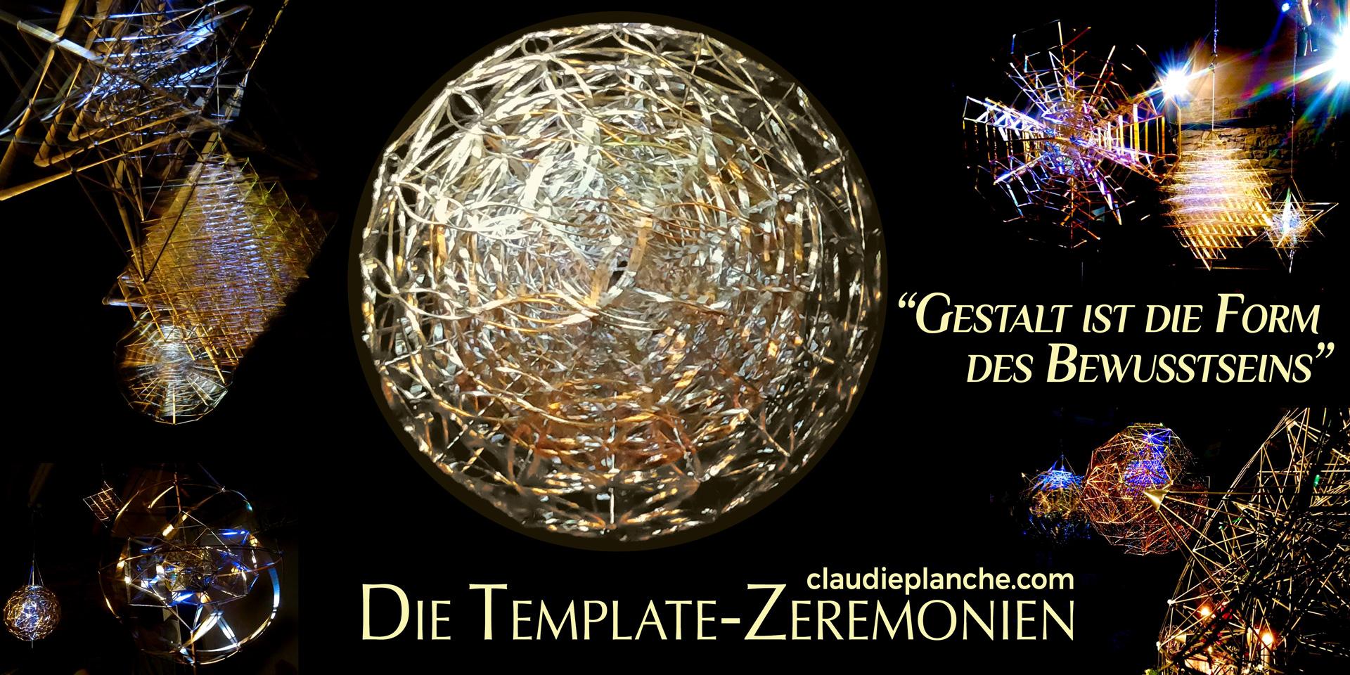 Die Heilige Geometrie der Template Zeremonien